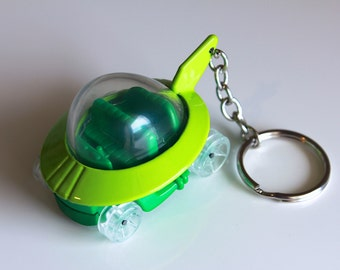 The Jetsons Capsule Car - Hot Wheels Die cast on Key Chain