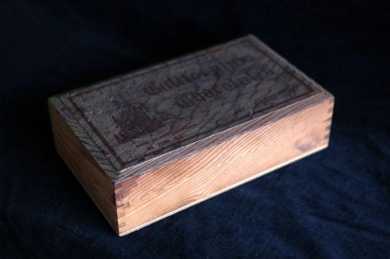 Vintage Timber California Chocolates Box