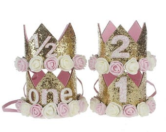 Birthday & Milestone Crowns
