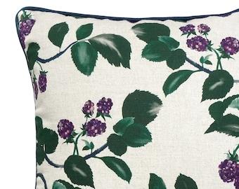 Blackberry Linen Cushion - Homeware - Decorative cushion