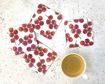 Tomato Coaster Set - Made in the UK - Kitchen Product