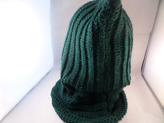 Herren-Loop-Schal Herren Kapuzen-Schal dunkle grüne Kutte | Etsy