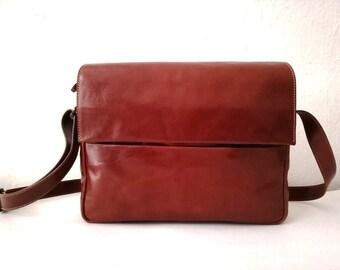 3c3da5ebf39 Minimal leather bag | Etsy