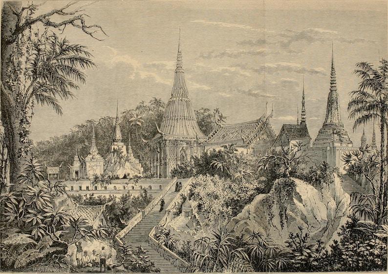 19th Century Bronze Reclining Buddha Thai Statue Thailand Rattanakosin