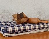 Tissu en lin ancien traditionnel Kelsch