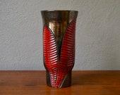 Ceramic vase vintage antique Elchinger