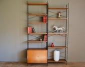 Shelf library wall system String 1960