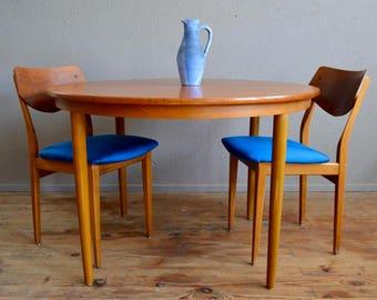 Tables De Cuisine Et De Salle A Manger Vintage Etsy Fr