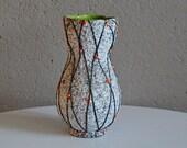 Vintage vase midcentury sea Ecume