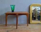 Table low coffe table rebuilding dlg René Gabriel Roger Landault Scandinavian organic wood low table french midcentury furniture