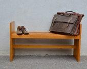 Small child bench, modular. Vintage