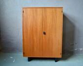 Modernist vintage highboard kitchen sideboard