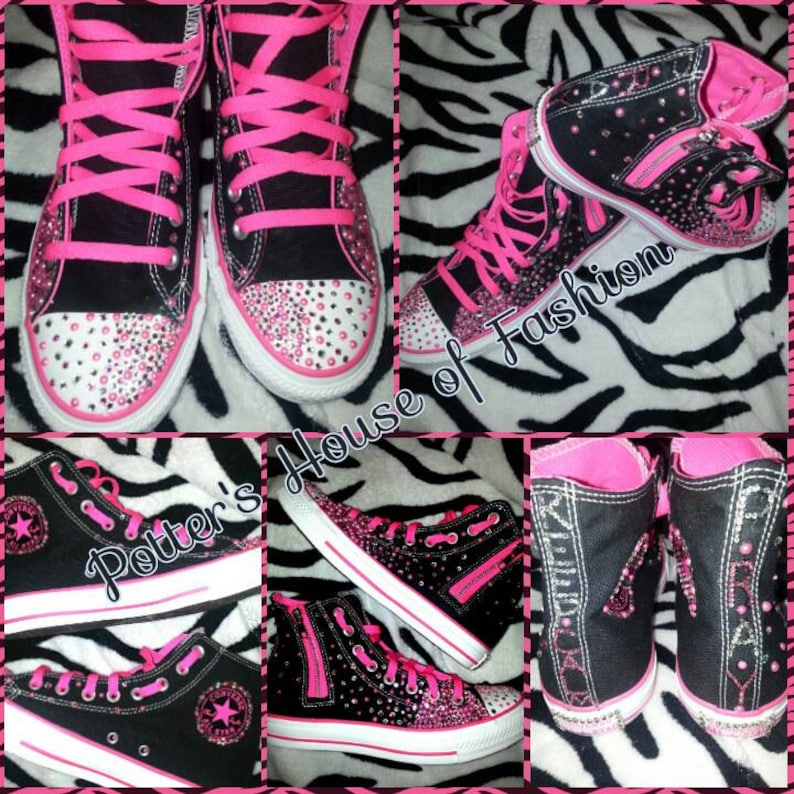 3074a170ca70 Women or teen bling custom converse Great for any special