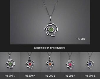 Sterling silver pendant. PE 200