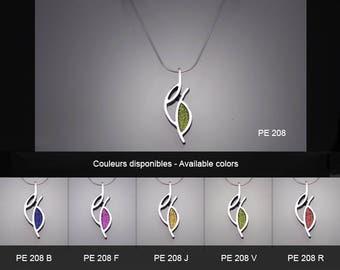 sterling silver pendant. PE 208