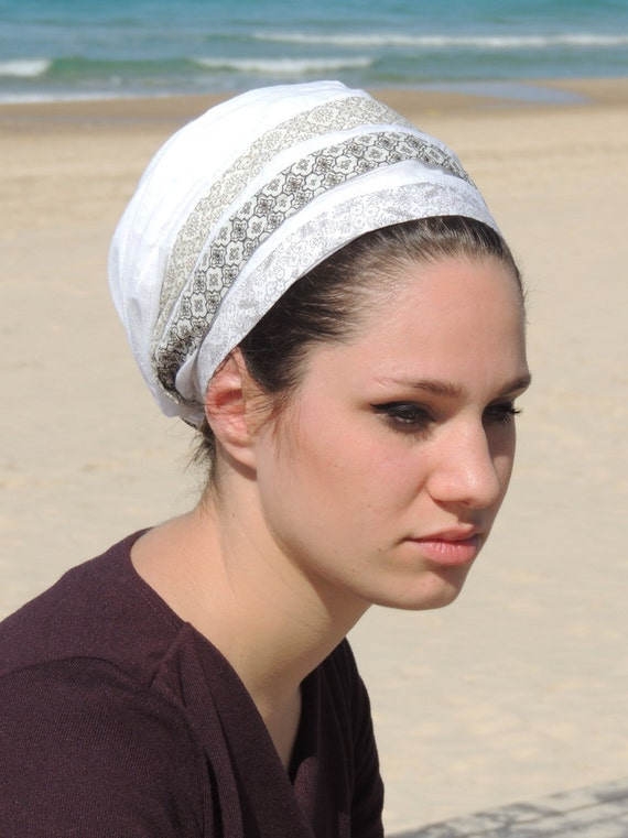 2af794ddb9bb Cheveux couvrant tichel foulard sur la tête foulard chimio   Etsy
