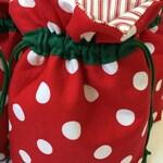 Custom Order Holiday Drawstring Bag