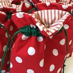 Custom Order Holiday Gift Bags (set of 4)