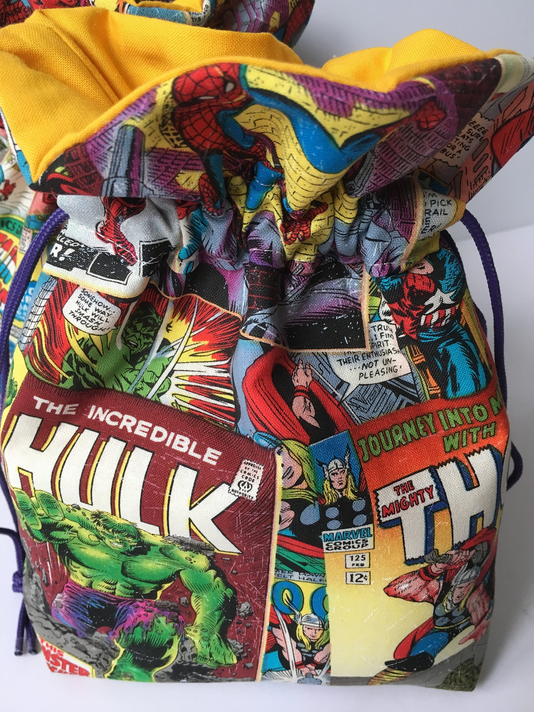 Marvel Comics Geschenktüte Thor Hulk Captain America Iron | Etsy