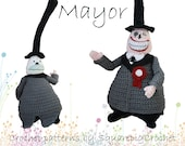 Crochet pattern Mayor (The Nightmare before Christmas)