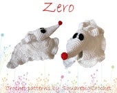 Crochet pattern Zero (Nightmare before Christmas)