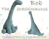 Dinosaur crochet pattern Bob the Brachiosaurus