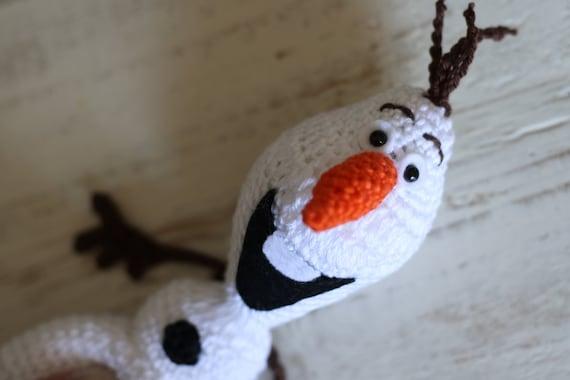 Olaf Haakpatroon Van Frozen Ongeveer 20 Cm Hoog Etsy