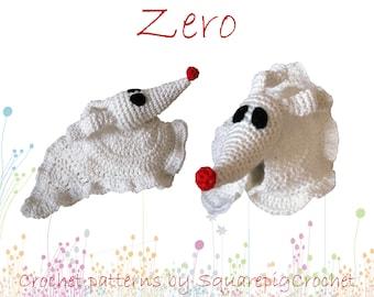 Crochet pattern Zero (Nightmare before Christmas)