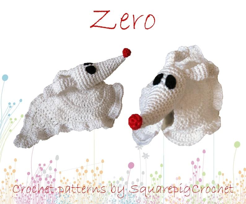 Crochet pattern Zero Nightmare before Christmas image 0