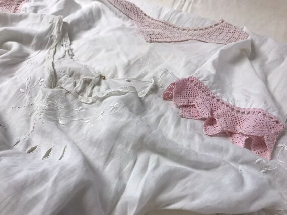 Vintage Petticoats and Nightgowns Lot of Five - image 2