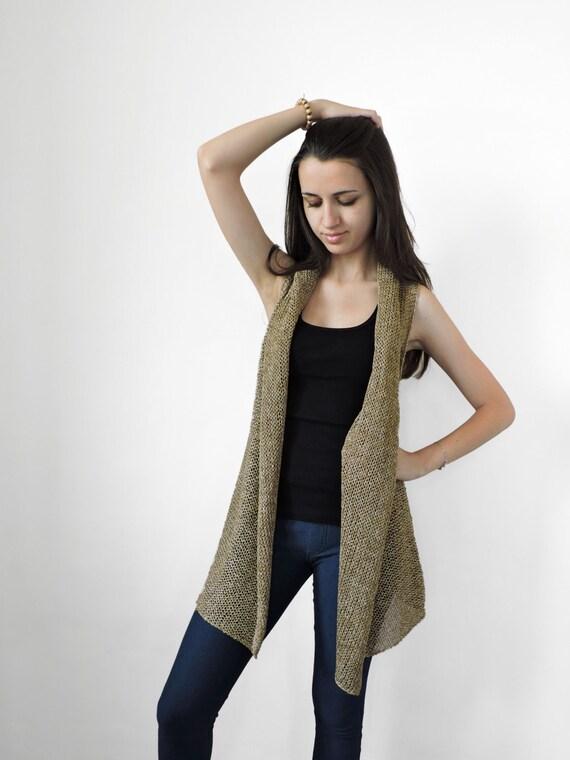 Womens Vest Womens Sweaters Plus Size Sweater Long Vest