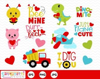 Valentine Clipart Etsy