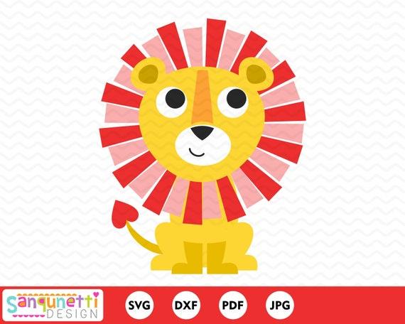 Valentine Lion Svg Safari Love Cut File For Silhouette And Etsy