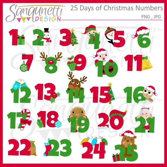 Divine image with christmas numbers printable