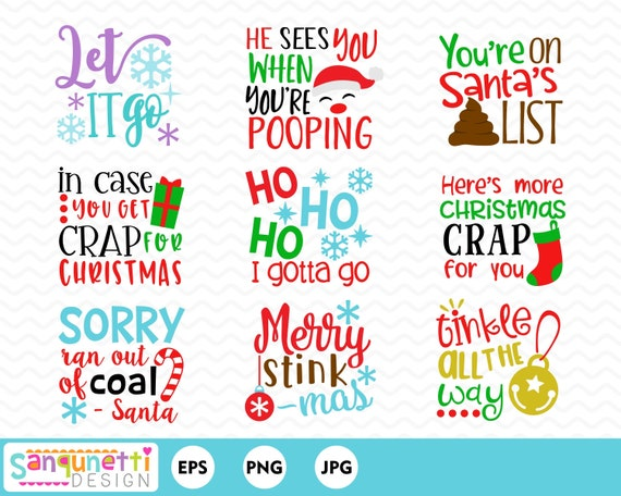 Christmas Lettering.Christmas Toilet Paper Lettering Clipart Bathroom Poo Graphics