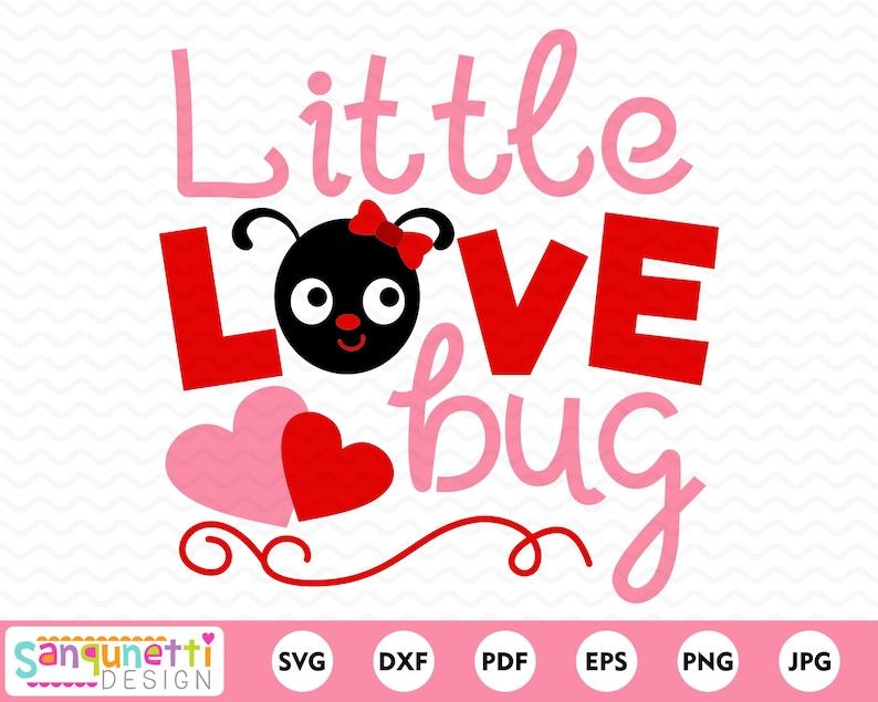 Download Little Love Bug Valentine SVG cut files for cricut or | Etsy