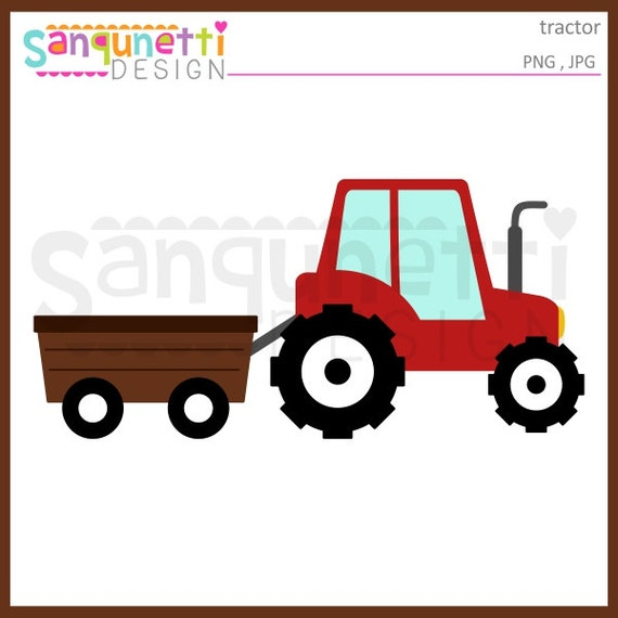 tractor clipart wagon clipart transportation clipart farm etsy rh etsy com farm tractor clipart free farm tractor clipart free
