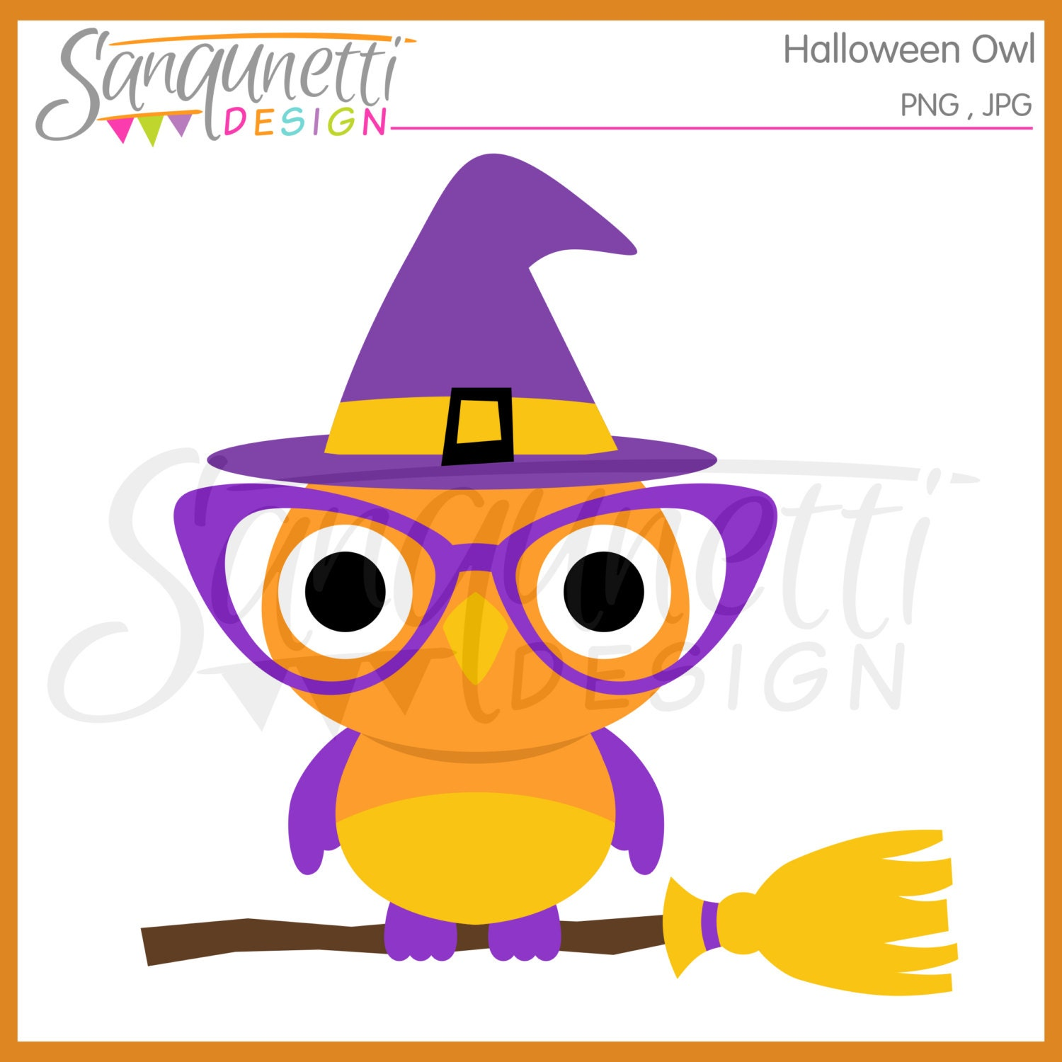 halloween owl clipart halloween clipart witch clipart owl | etsy