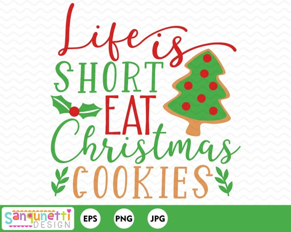 Baking Christmas Cookies Clipart.Christmas Cookies Clipart Baking Holiday Graphic