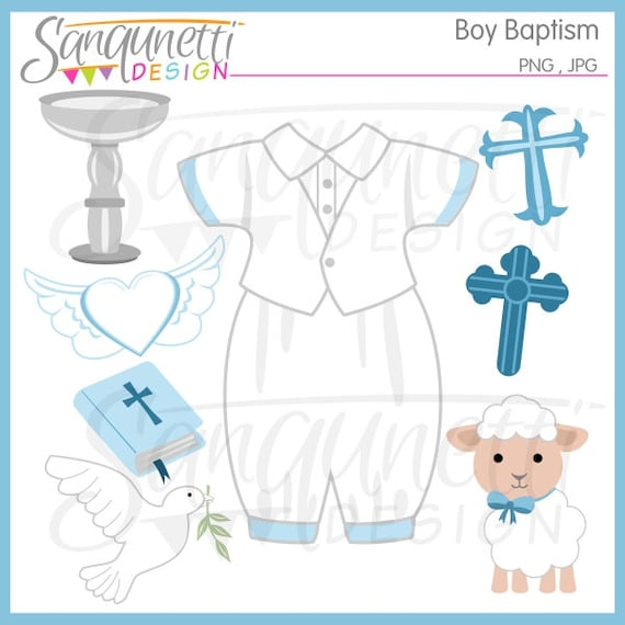 boy baptism clipart christian clipart religious clipart bible rh etsystudio com Baptism Clip Art Black and White Baptism Clip Art Black and White