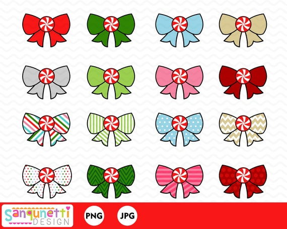 Christmas Bow With Holly Clip Art at Clker.com - vector clip art online,  royalty free & public domain