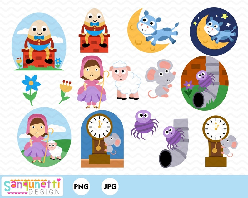 Image result for nursery rhyme characters