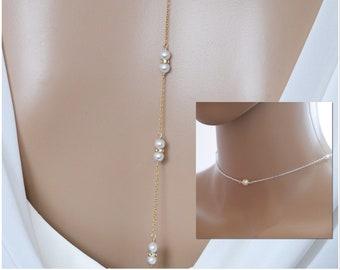 Backdrop necklaces