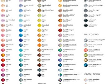 Colour charts / Samples