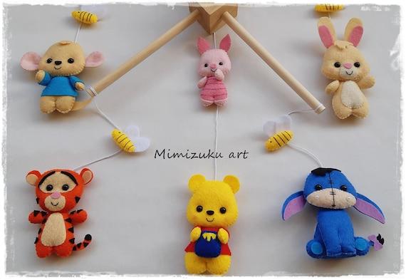 Winnie the pooh mobile felt crib mobile babyroomdecor filz | Etsy