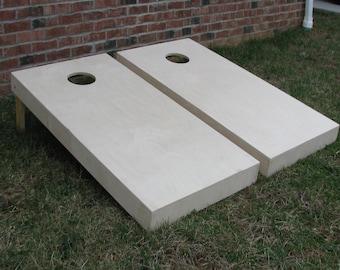 Non Painted Cornhole Board
