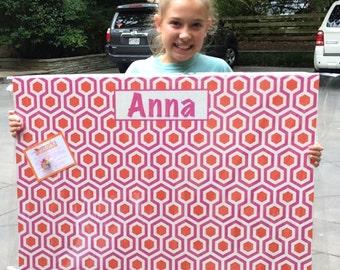 Custom Cork Boards - Hexagon Design