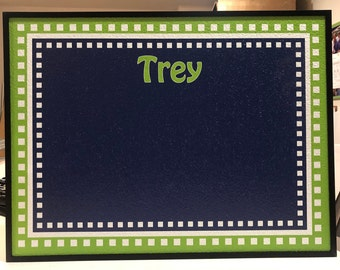 Personalized Bulletin Boards - Square Border Design