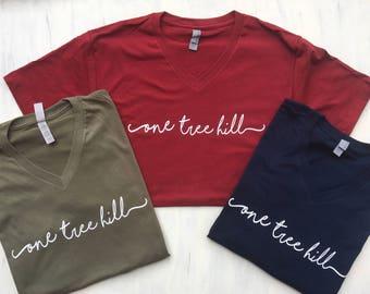 61606d88518bb Tree Hill North Carolina Short Sleeve T Shirt One Tree Hill | Etsy