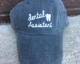 Dental Assistant Baseball Cap